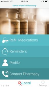 Pharmacy app medication reminders